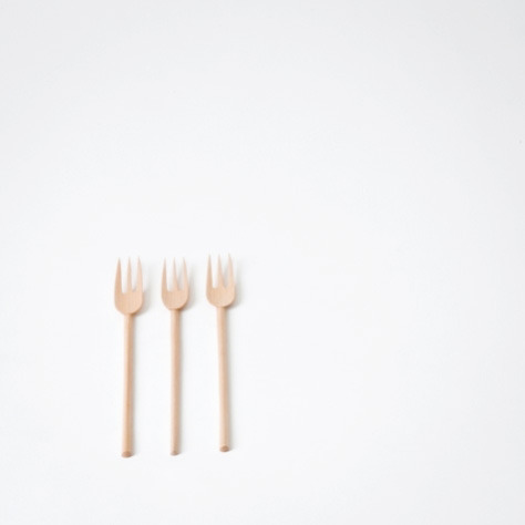 pure-and-honest:  Tomii Takashi birch fork
