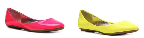 Important PSA: Steve Madden's Heaven flats now come in neon. (And a ton of other fun new colors as well!)