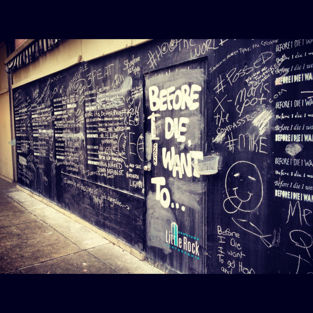 Before I Die / 101-105 W Capitol Ave / Downtown / Little Rock, AR / 06.03.12 / 3:19PM
