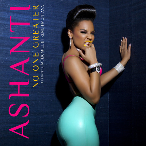 "Ashanti's ""No One Greater"" artwork revealed. #fresh"