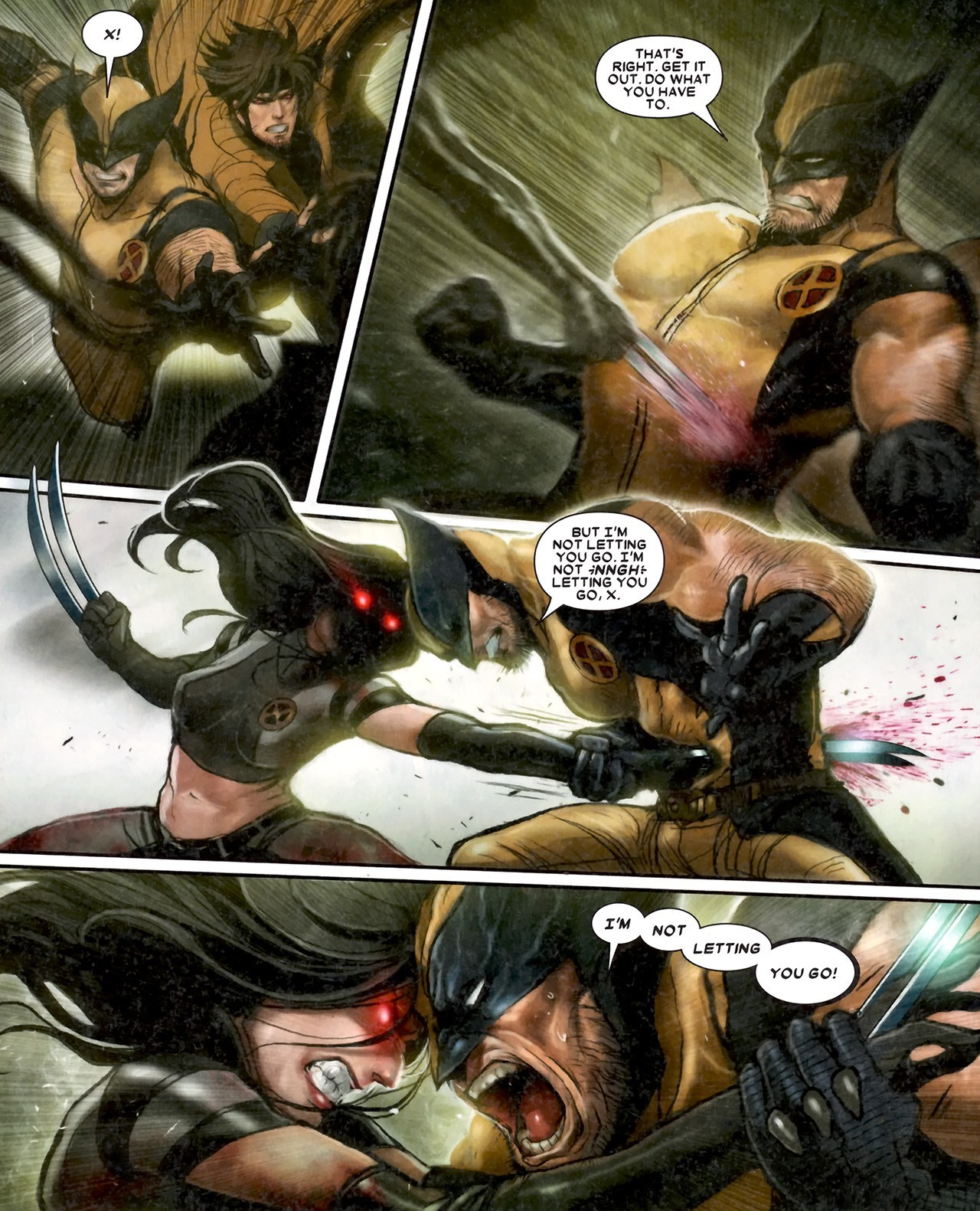 papayemecanique:  X-23 #12