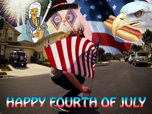 Happy 4rth of July- Shaun's Facebook Page.