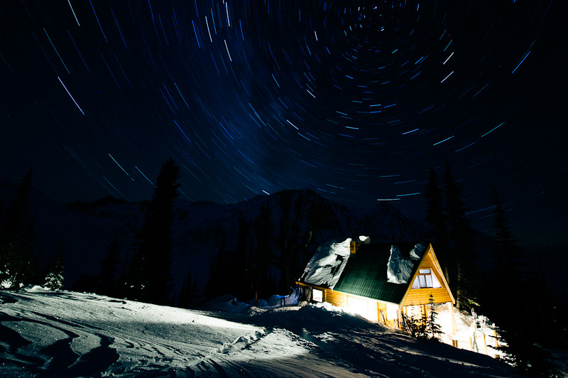 garrettgrove:  Fairy Meadows Hut, British Columbia, Canada Photo: Garrett Grove