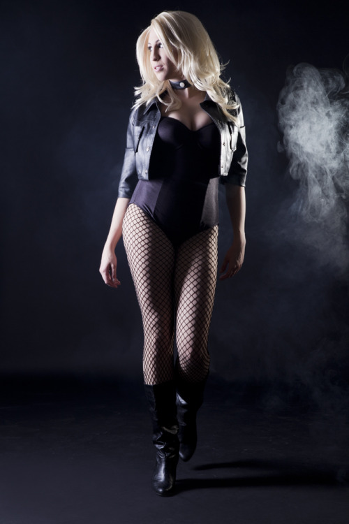 comicheroines:  Black Canary Cosplay  ,
