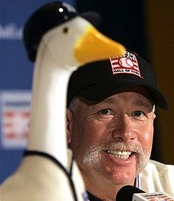 Hall of Fame fireballer Goose Gossage turns 61 today, and we bet he could still give teams an inning a month—and brush some people back in the process.