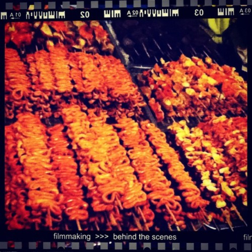 ISAW GALORE. YUUMM! 😁 #igers #igerspinoy #instagood #instamood #webstagram #statigram #isaw #foodporn #photography  (Taken with Instagram)