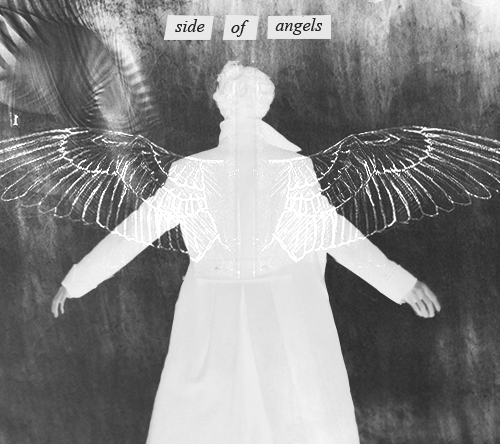 It's too cold outside For angels to fly An angel will die Covered in white, closed eyed And hoping for a better life