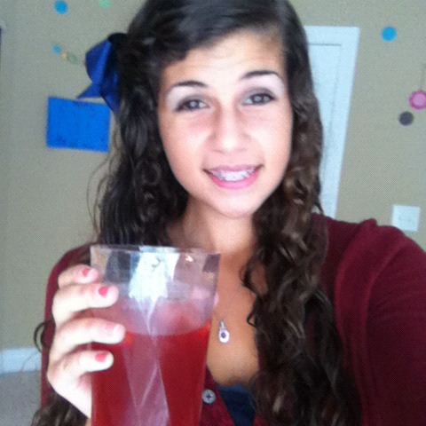Special 4th of July drink hollaaa;)