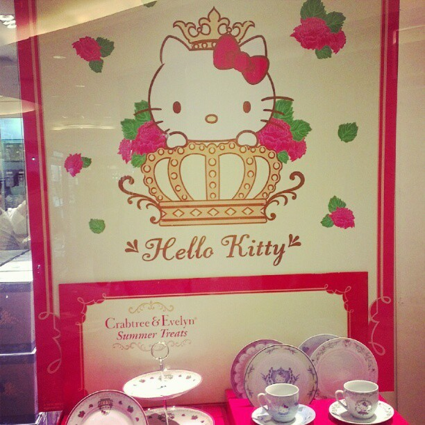 Ah Asia, the land of Hello Kitty. She's definitely the reigning cult personality. (Taken with Instagram)
