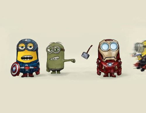 I'd rather see the Despicable Me Minion version of Avengers Haha