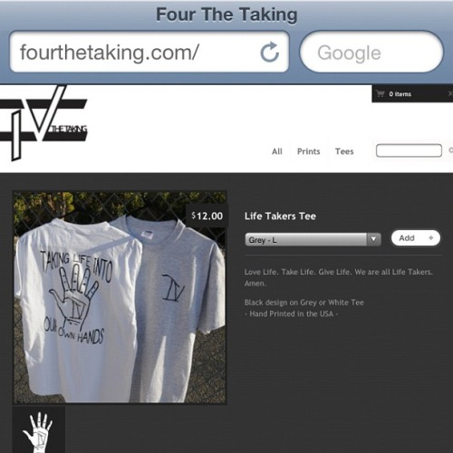 The Four The Taking 4th ofJuly Sale is still running! Use promo code : BALDEAGLE at checkout to save 44%! #fashion #clothing #art #design #sale #fourthetaking  (Taken with Instagram at www.fourthetaking.com)