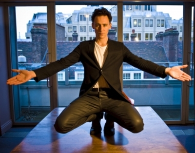 Tom, you shouldn't be allowed to take pictures in that position. You're completely ruining me.
