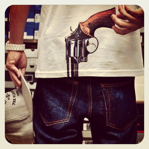 Guns Are For Cowards… #Guns #War #Fashion #Style #Deadly #Weapon #Love  (Taken with Instagram)