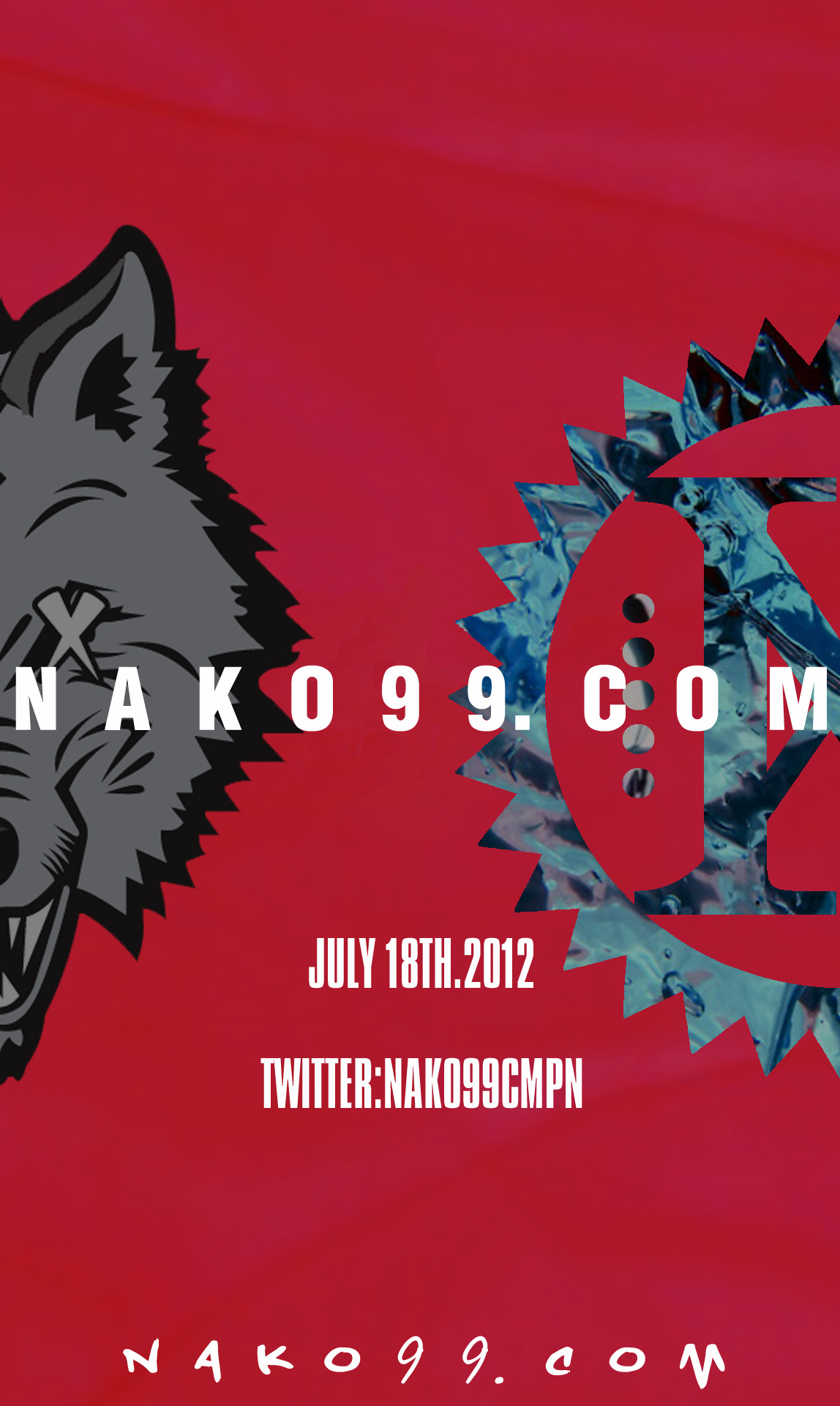 NAKO99.COM SHOP OPENS JULY 18TH. FOLLOW THE SHOP ON TWITTER:NAKO99CMPN