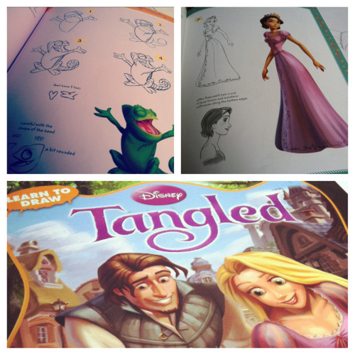 Learn to Draw: Tangled is a pretty awesome book!