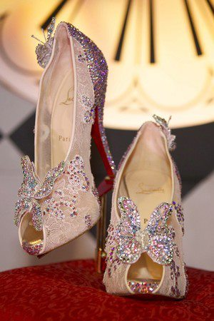 Christian Louboutin has unveiled an updated version of Cinderella's famous slipper. What do you think of the style?