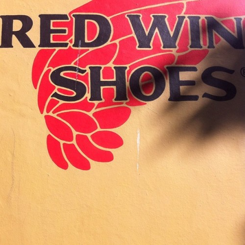 #redshoes  (Taken with Instagram)
