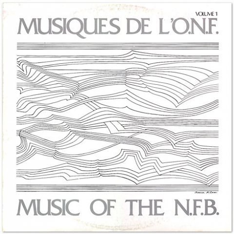 "Music of the N.F.B. ""Brilliant 2 LP set of electroacoustic-ish music from National Film Board of Canada films."" Cover drawing by Norman McLaren."