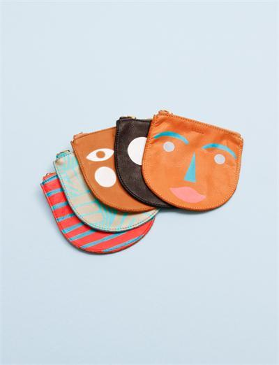 Baggu small leather zip pouch via creatures of comfort