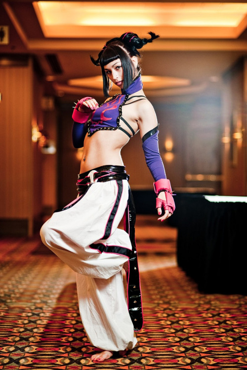 bestofcosplay:  Juri Han Street Fighter
