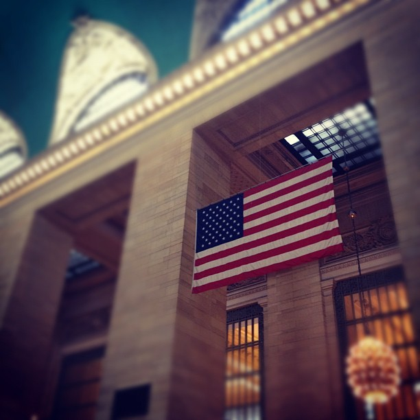 DO YOU HAVE A FLAG?! (Taken with Instagram at Grand Central Terminal)