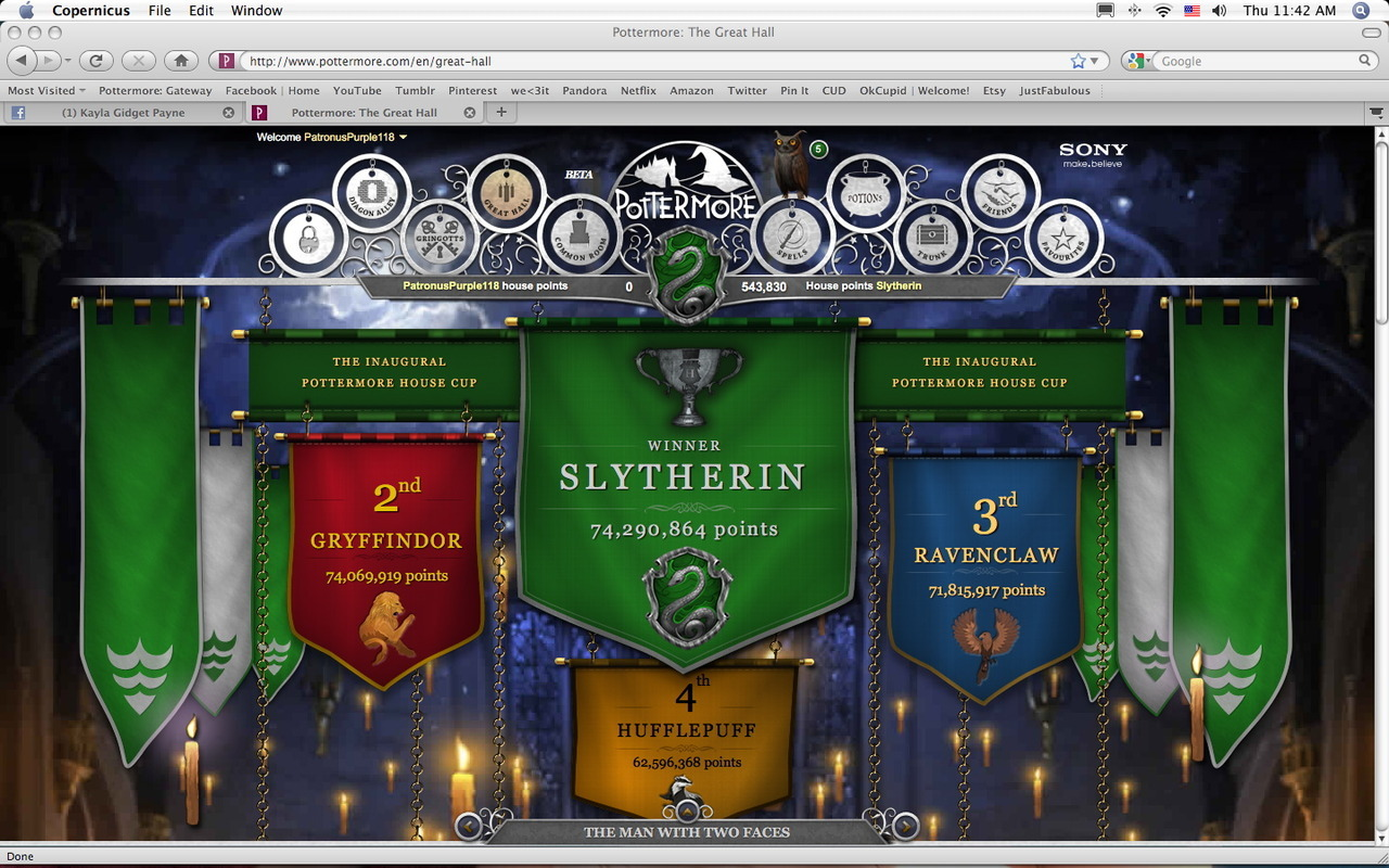 Hell Yeah! thats what I like to see! GO SLYTHERIN!