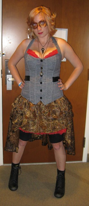 The start of a steampunk obsession.  Submitted by fyeahsteampunk