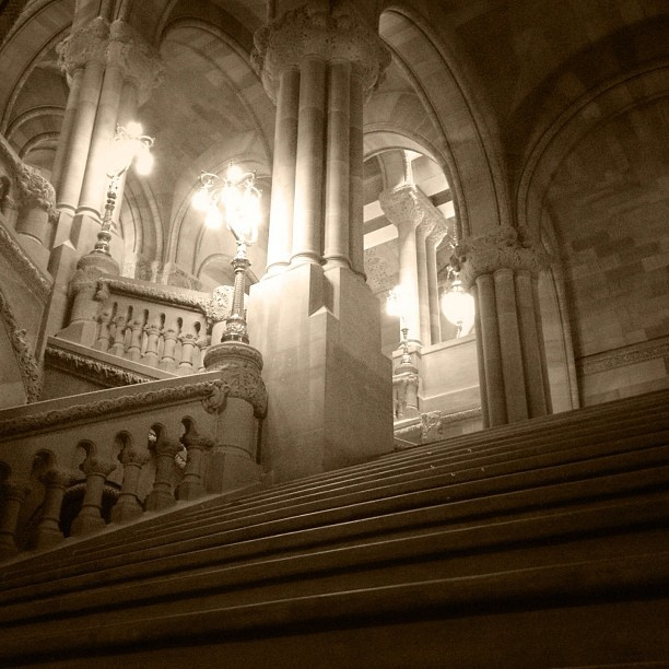 Million dollar staircase. (Taken with Instagram at New York State Capitol)