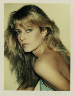 #idolinspiration Farrah Fawcett (polaroid by Andy Warhol)