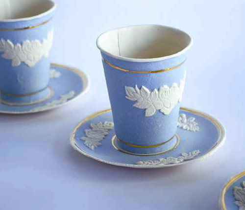 Paper cups fit for a Queen!