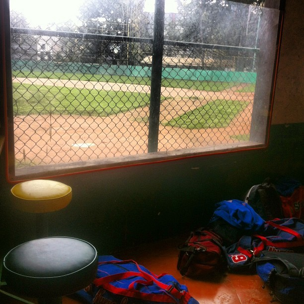 Working on proposal for little league baseball league (Taken with Instagram at Liga Maya)