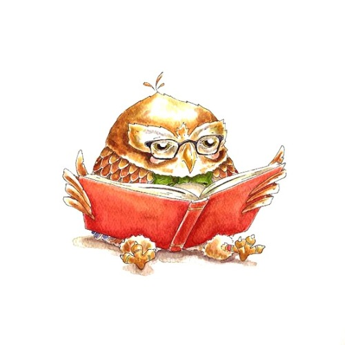 Owl about reading a good book?