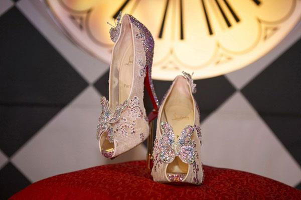 disneybound:  Christian Louboutin unveils his re-imagining of Cinderella's Glass Slippers.   MINE!