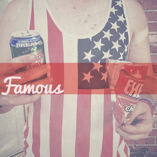 #Famous stars and stripes (Taken with Instagram)