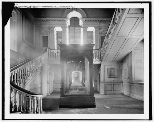 July 8, 1776:  Liberty Bell Tolls to Announce Declaration of Independence On this day in 1776, the 2,000-pound Liberty Bell rang out to summon the citizens of Philadelphia to the first public reading of the Declaration of Independence.  The Declaration had been adopted by Congress four days prior (on July 4th, which became known as Independence Day) but was not announced until it returned from the printer on July 8th. Find out what happened to the signers of the Declaration of Independence!  Photo:  Library of Congress