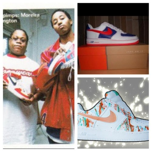 #tbt Remix Da Kickz (2002-03). #throwback #fashion #sneaker#picstitch (Taken with Instagram)