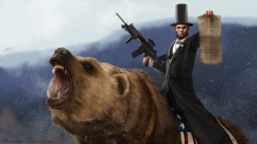 These badass patriotic drawings are all the America you'll need until the next Fourth of July — full gallery here, and you'll wanna click it.