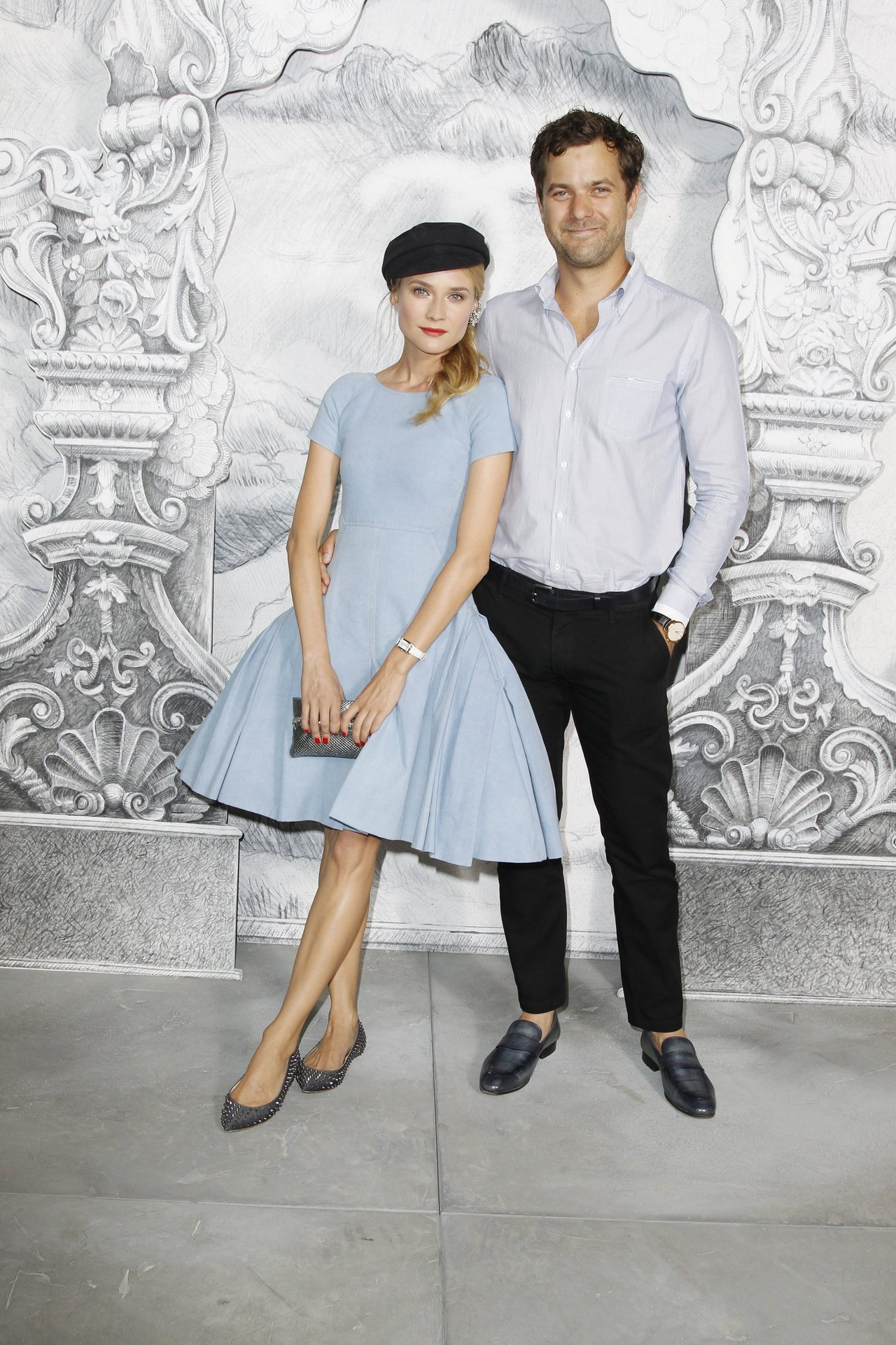 Diane Kruger and Joshua Jackson at Chanel Haute Couture - Fall 2012 / Photo Courtesy of Chanel Click here to see all the stars at the Haute Couture shows in Paris.