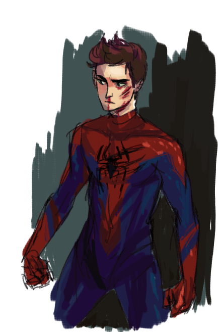 zerachin:  ninthrevolver:  ANDREW GARFIELD WAS REALLY LANKY I LIKE IT. ALSO HE GOT BEAT UP A LOT. I LIKE THAT TOO.  AHHHHHH  Yesss excellent, perfect style for this perfect baby.
