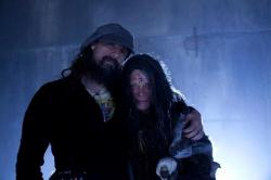 RZ & Meg Foster on the set of THE LORDS OF SALEM.  [via]