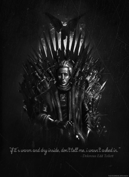 Who wants to see Eddison sitting on the Iron Throne?