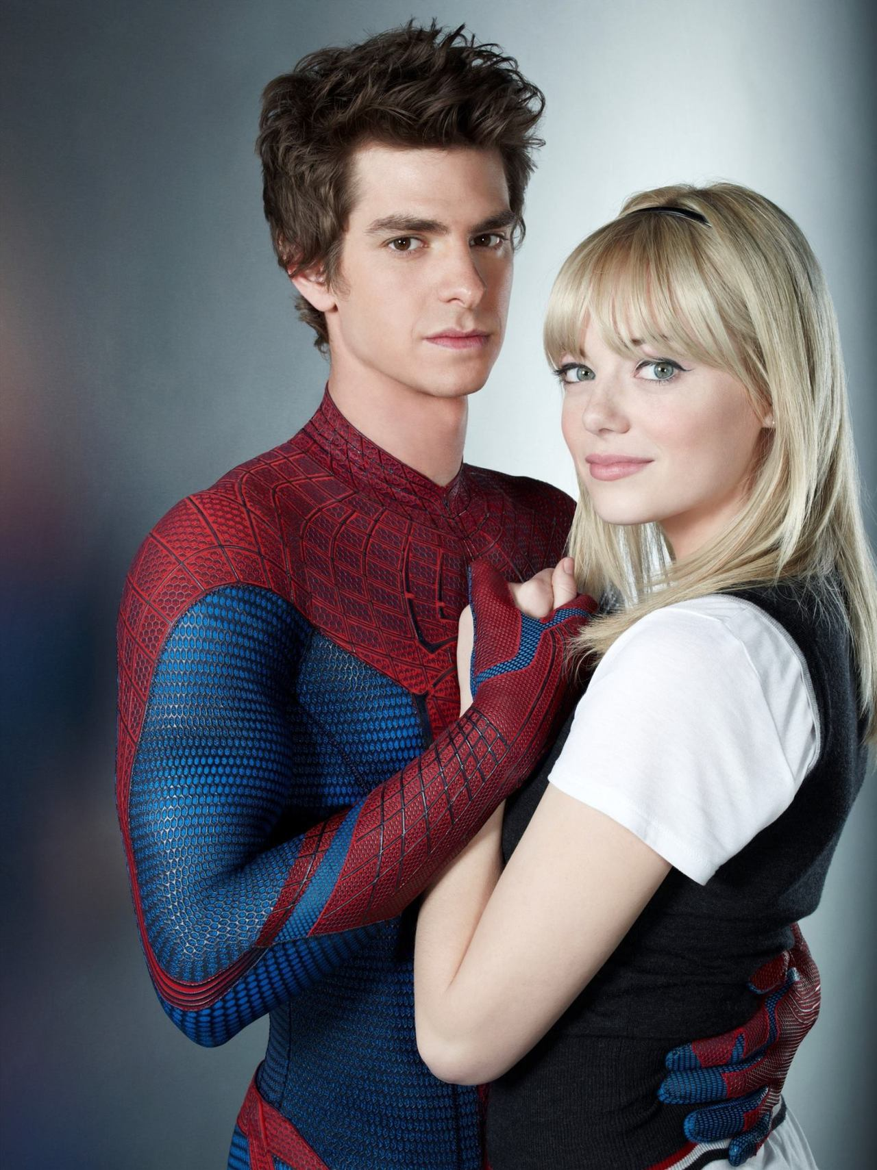 id0ug:  Peter Parker y Gwen Stacy.
