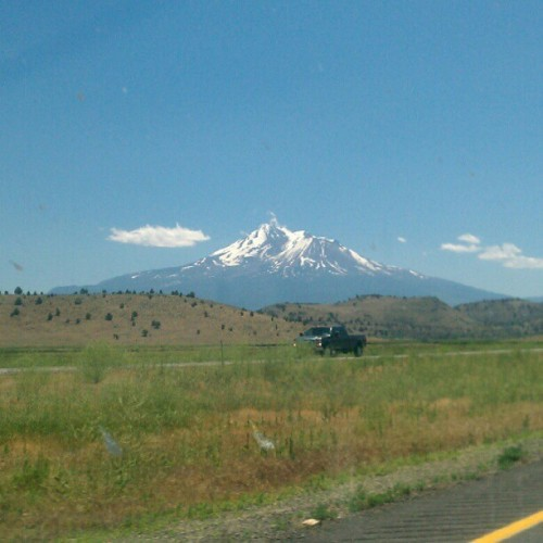 Mt. Shasta (Taken with Instagram)