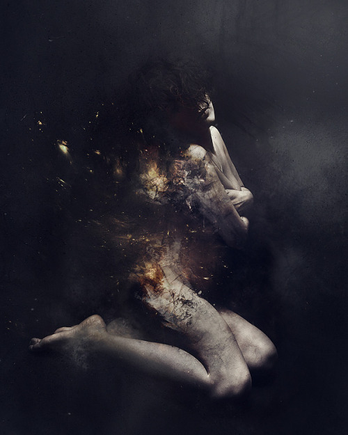 artchipel:  Fabio Selvatici - Hope. Photomanipulation, 30x40 cm (2010)