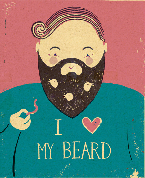 My full bountiful beard By Mike Ellis