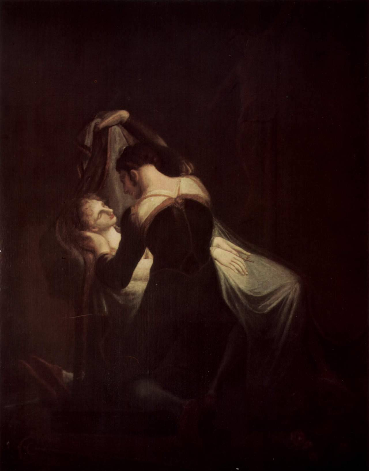 Romeo at Juliet's Deathbed, by Henry Fuseli (1809)