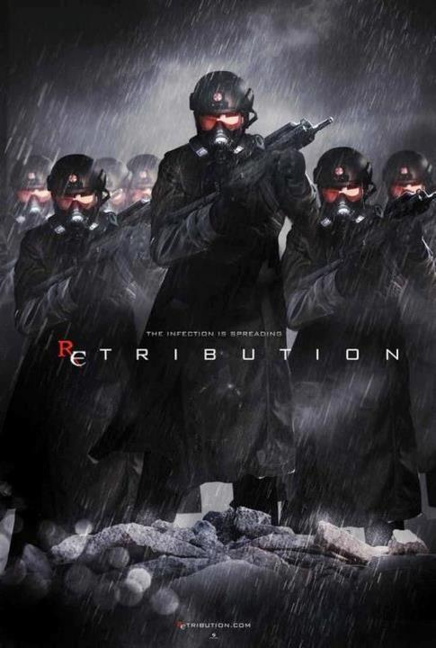 'The Infection Is Spreading'  Unofficial poster for Resident Evil: Retribution.