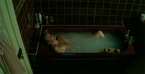 Colin Firth bathtub scene from And When Did You Last See Your Father? I'd make a wittier caption, but I am too busy ogling.