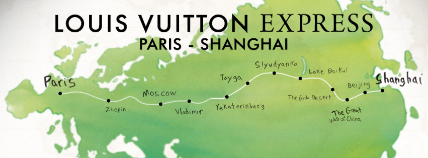 Paris-Shanghai Louis Vuitton Express