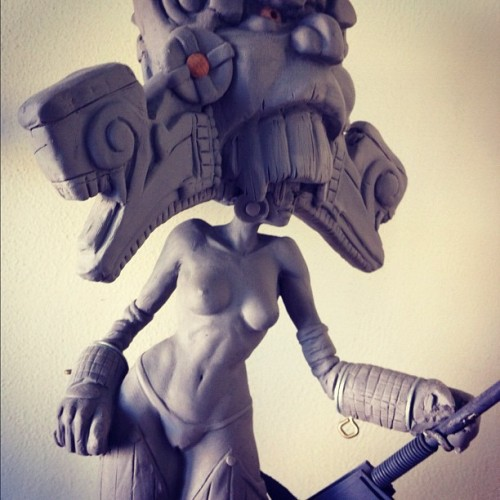 #throwbackthursday I need  more #sculpture #art time in my life! Oldie but a goodie! (Taken with Instagram)